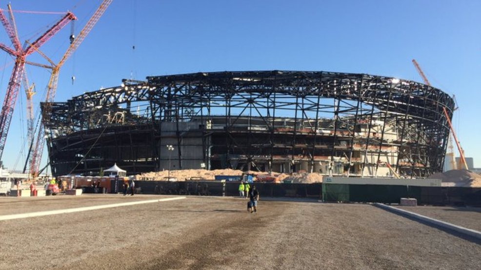 Las Vegas home for Raiders officially named Allegiant Stadium   KSNV