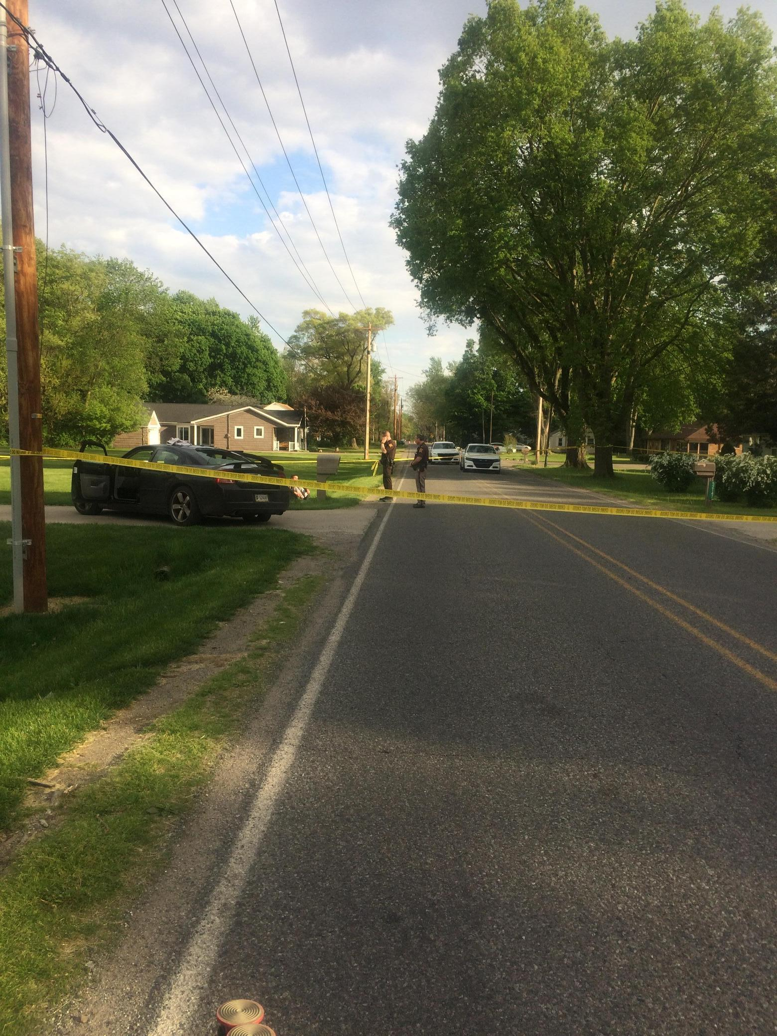 Shooting investigation at County Road 7 and County Road 4  in Elkhart County // WSBT 22 photo
