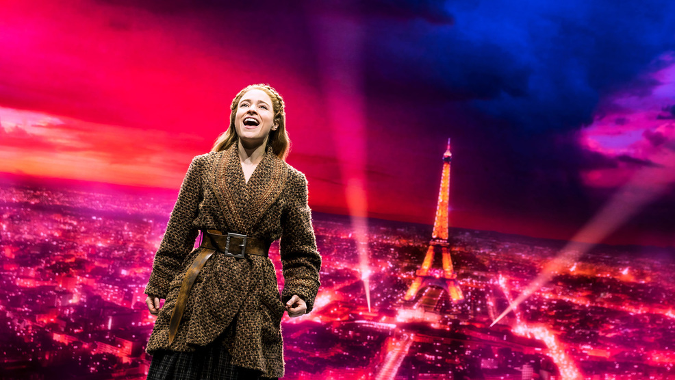 "Christy Altomare in ""Anastasia"" on Broadway"