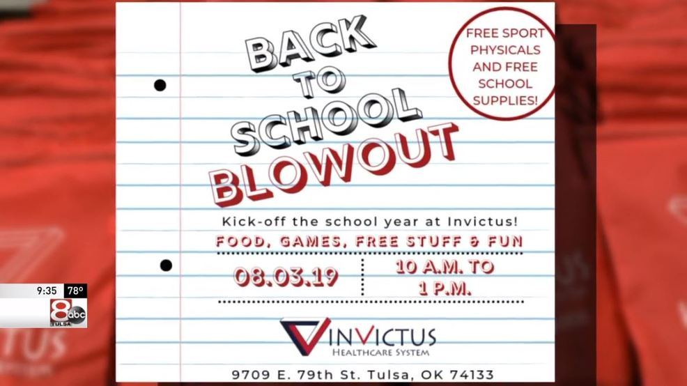 The Invictus Back To School Blowout is giving free school