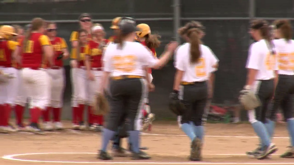 4.17.19 Highlights - Oak Glen vs Indian Creek - high school softball