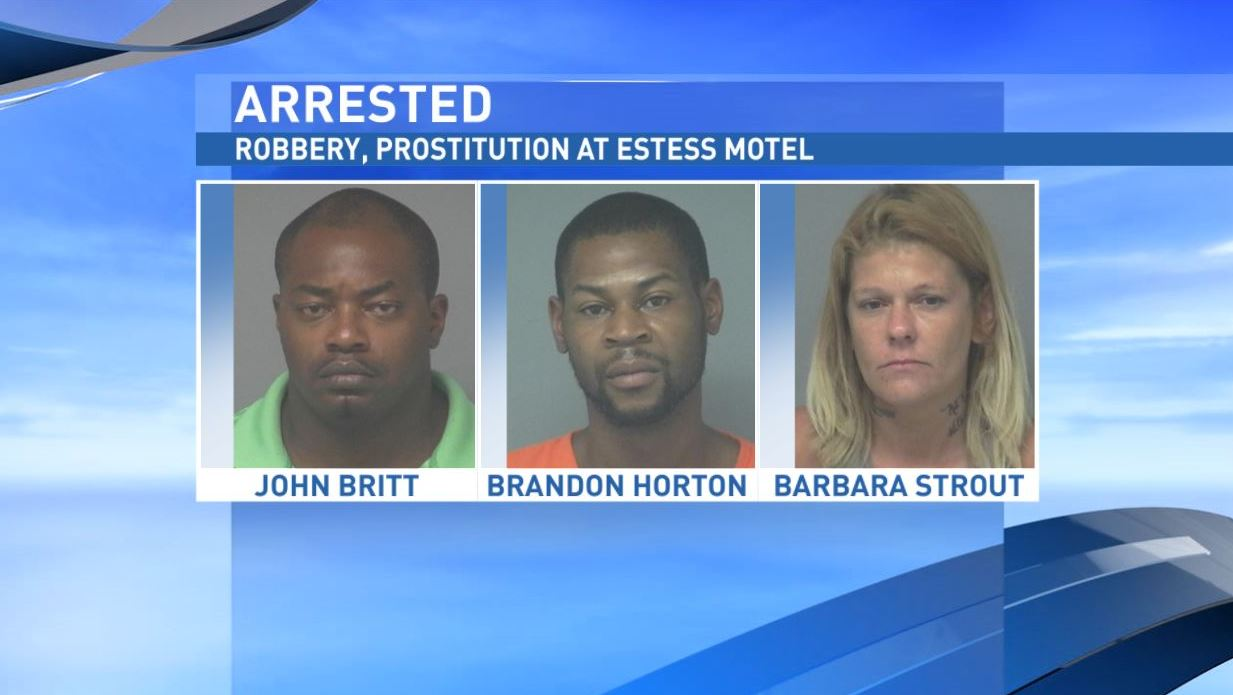 Robbery, prostitution at Estess Motel (Potter County Sheriff's Office)