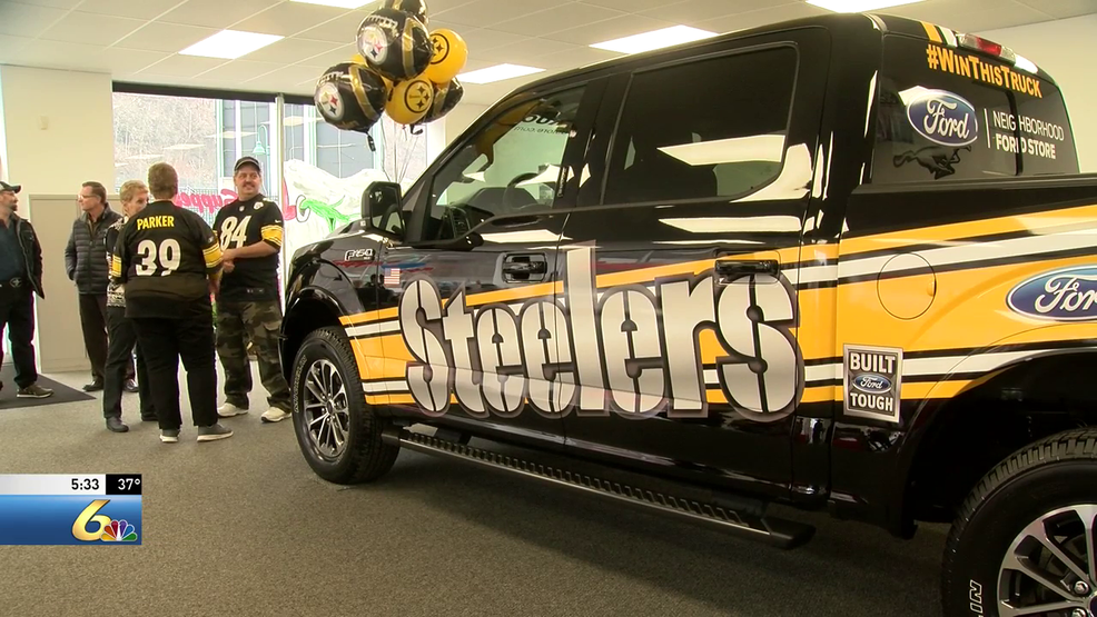 600d3a996 Cambria County man wins Steelers truck