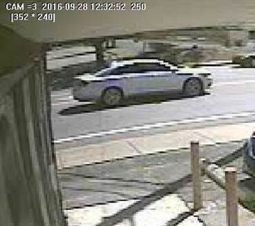 Suspect Vehicle (Metro Police)