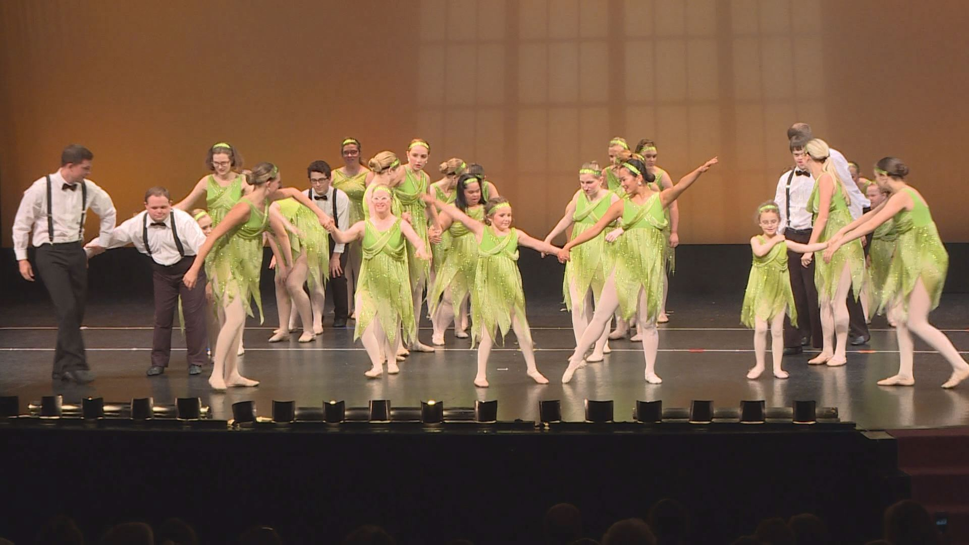 """Chance to Dance"" was a show stopper at a recent recital by Barbara Ann's School of Dance at Transylvania University"