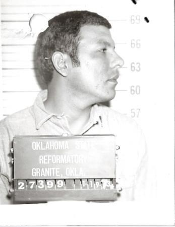 Escaped from Oklahoma State Reformatory October 18, 1973.