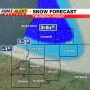 First Alert Weather: Map shows where snow expected Thursday and Friday