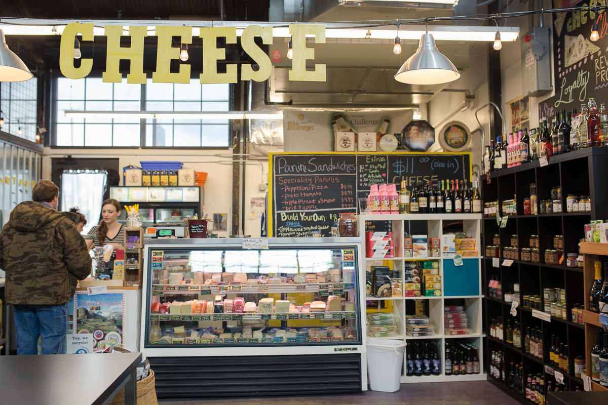 The Cheesemonger's Shop at Pybus Market (Image: Paola Thomas / Seattle Refined)