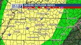 CODE RED: Severe thunderstorm watch for middle Tenn. Saturday