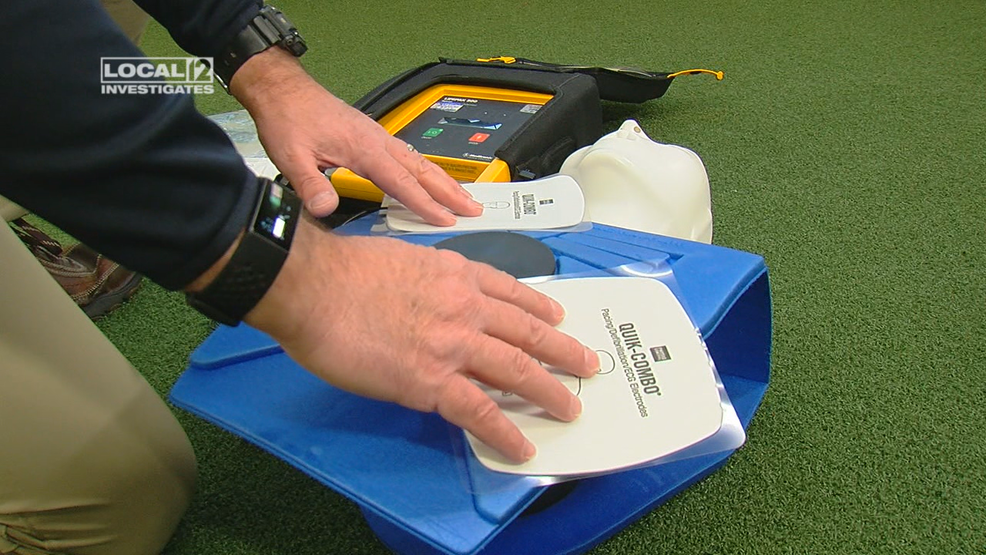 AEDs, once not required, now a standard at schools. But what about athletic trainers?