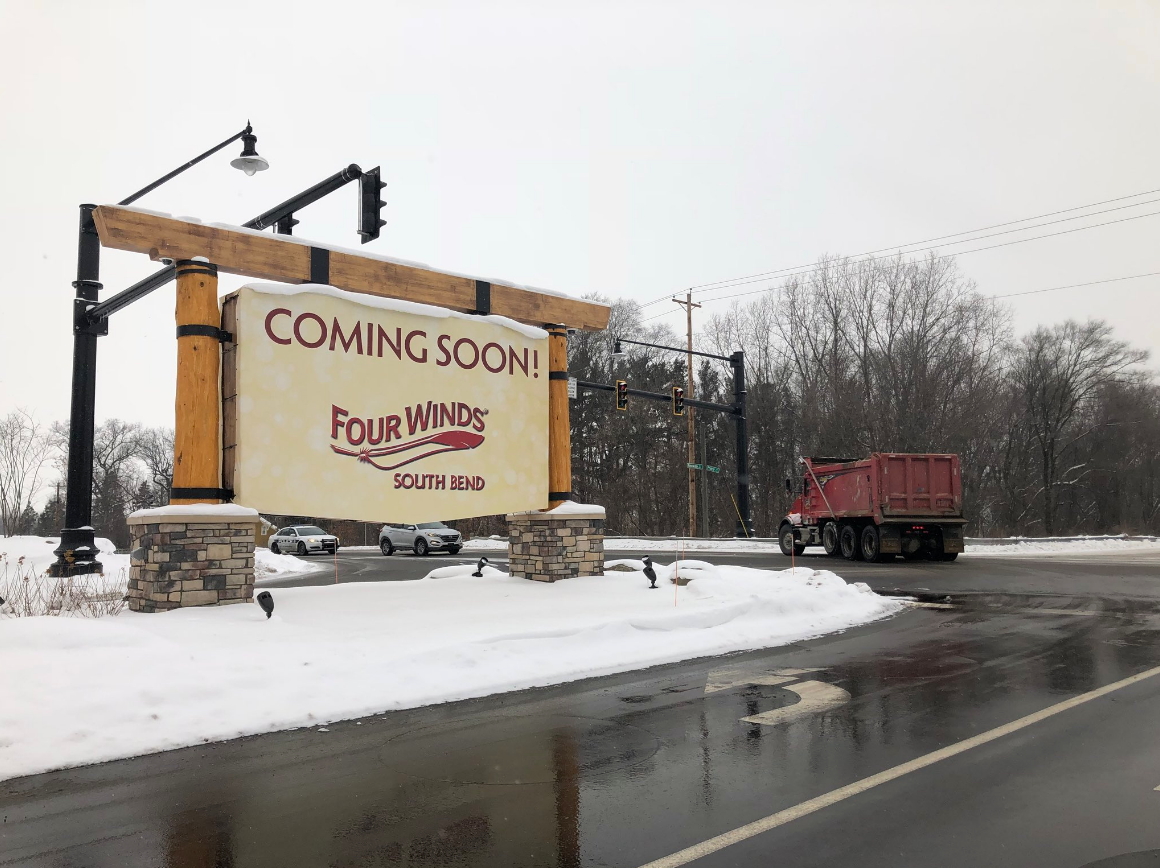 Four Winds Casino prepares for influx of traffic. // WSBT 22<p></p>
