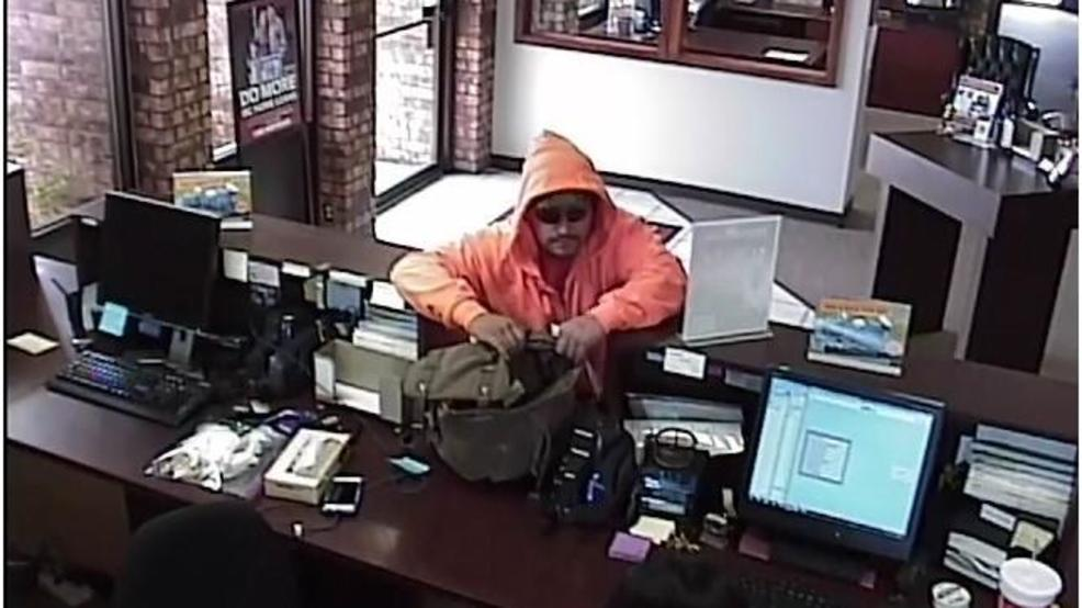 Surveillance picture from Shawnee bank robbery on Saturday, April 14, 2018 Courtesy FBI Oklahoma City        #1.JPG