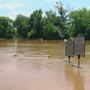Rain-swollen Rappahannock River floods parks, bridges in Stafford County