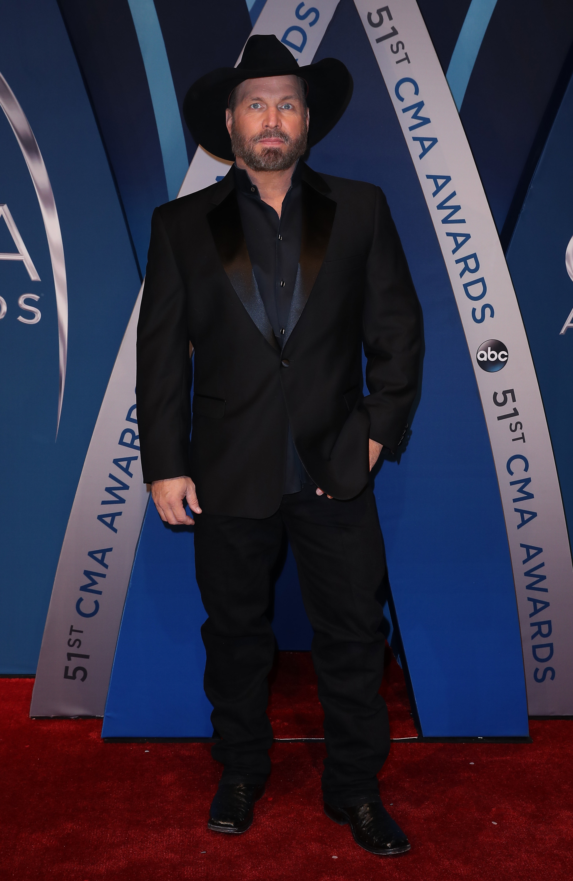 51st CMA Awards Arrivals at Music City Center                                                                      Featuring: Garth Brooks                                   Where: Nashville, Tennessee, United States                                   When: 08 Nov 2017                                   Credit: Judy Eddy/WENN.com
