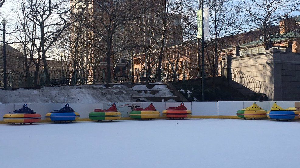 Providence Welcomes Bumper Cars On Ice At Alex And Ani City Center