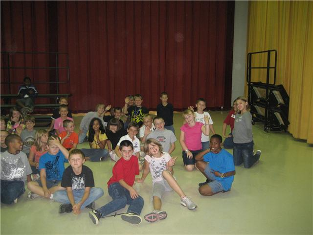 Pelion Elementary School Fourth Graders