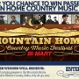 Mtn. Home Country Music Festival Sweepstakes - 2017