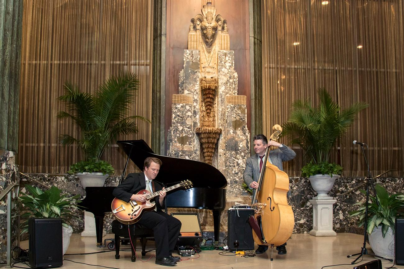 In February, the Bar at Palm Court will offer live jazz and world jazz music during happy hour (M-F from 4-7 PM). / Image: Allison McAdams // Published: 1.31.18
