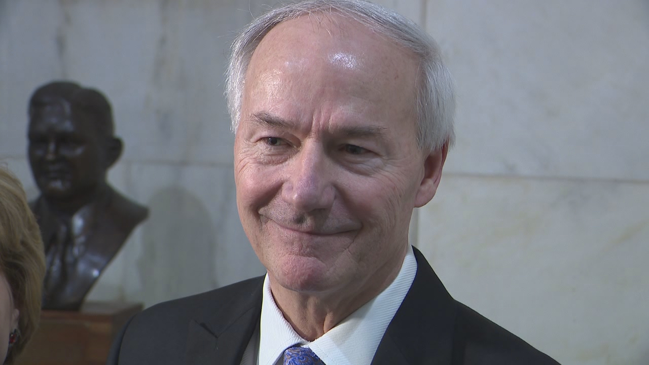 Governor Asa Hutchinson officially has a Republican challenger for his seat, Jan Morgan.<p></p>