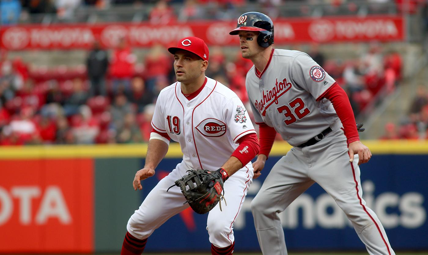 Reds Opening Day photos (Photo courtesy Tony Tribble)