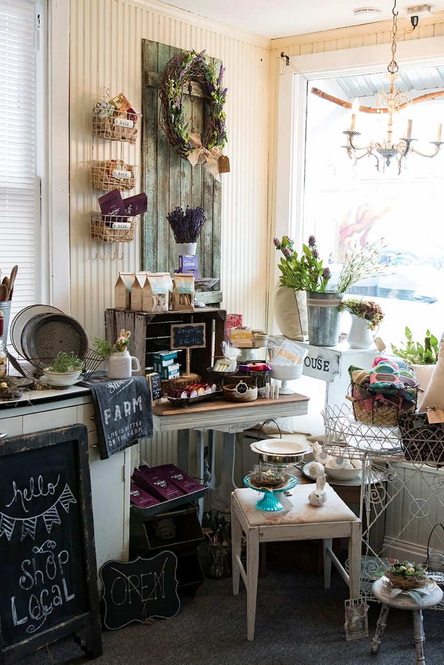 Their one-of-a-kind items make it the perfect place to shop for gifts you can't get anywhere else. The operating hours vary, so keep up with Little Gray House on their Facebook page to see when they're open, or you can call to schedule a showing. / Image: Allison McAdams // Published: 4.22.19