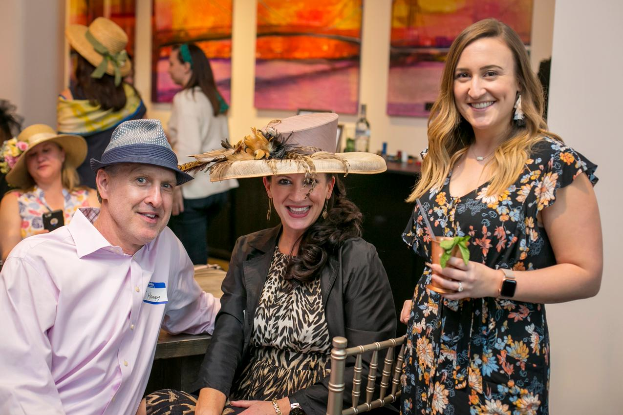 Ted & Kitty Kennedy with Casey Gray{ }/ Image: Mike Bresnen Photography{ }// Published: 4.17.19