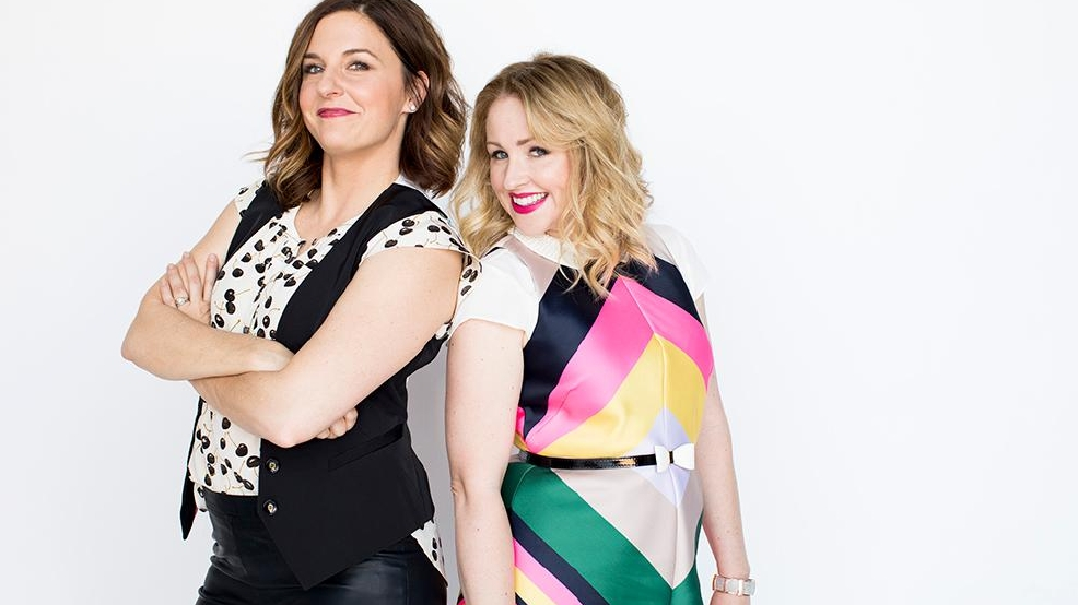 Kristin Hensley and Jen Smedley, the comedy duo #IMomSoHard.