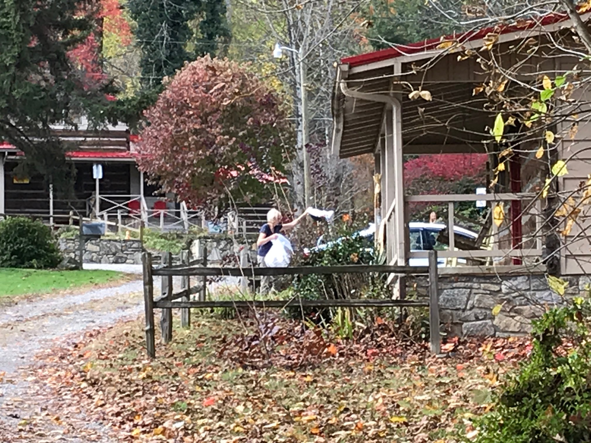 "<p>During the pandemic the Haywood County Visitors Center is promoting an ""Embrace Unusual"" campaign, letting folks know they can come to a place like this and enjoy the great outdoors and still keep a lot of social distance. (Photo credit: WLOS Staff)</p>"