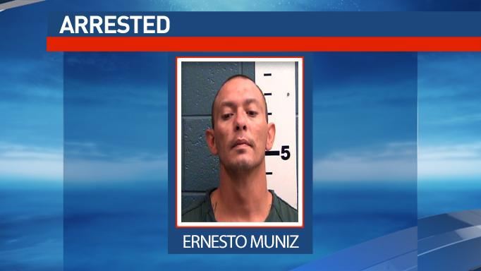 Ernesto Muniz was arrested as part of a Las Cruces drug trafficking investigation.