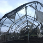 Four barns suffer damage after funnel cloud touches down near Lebanon