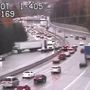 Traffic alert: Crash blocks I-405 south in Renton