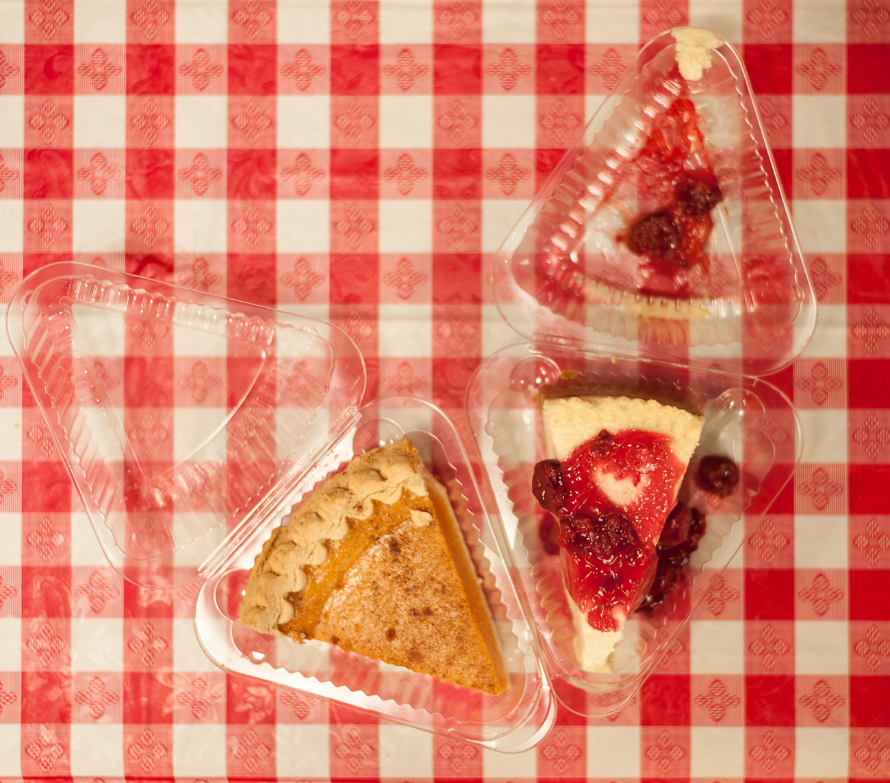 Sweet potato pie cheesecake and strawberry pie{ }/ Image: Kellie Coleman // Published: 6.19.20