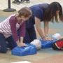 College students host Texas Two Step CPR training classes at Mall of Abilene