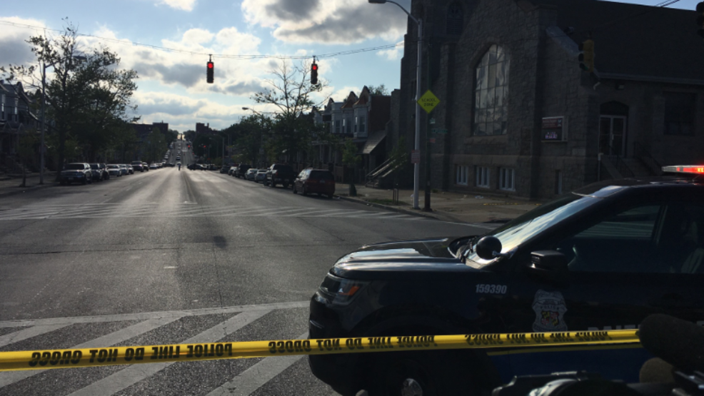 Breaking Seven People Shot One Killed In Baltimore Wbff