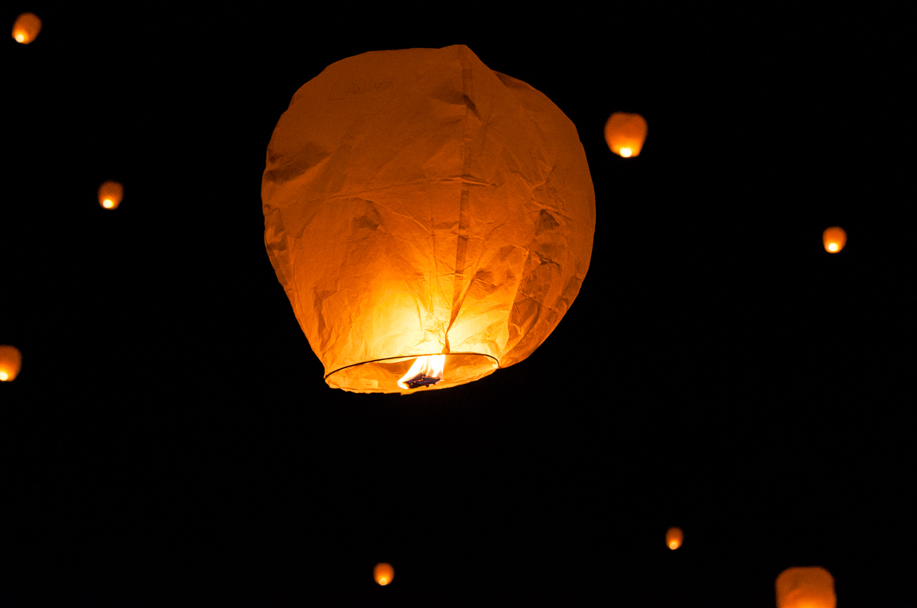 Lantern Fest was held at the Kentucky Speedway on June 24. Thousands of people of all ages gathered together for live music, snacks, and the lighting of lanterns once the sun set. The summer event is a visually-stunning experience that provides symbolic release for many and photo ops for others. ADDRESS: 1 Kentucky Speedway Blvd. (41086) / Image: Mike Menke // Published: 6.26.17