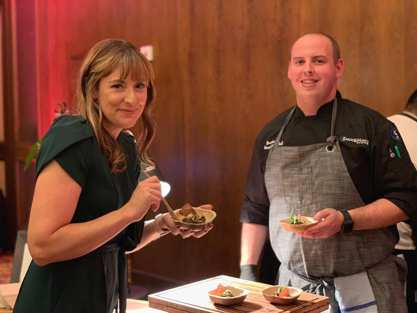 Snoqualmie Casino's culinary innovations dazzled at Taste America Seattle this month, impressing guests at both a cocktail party and gala dinner.