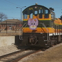 Easter Bunny visits National Railroad Museum
