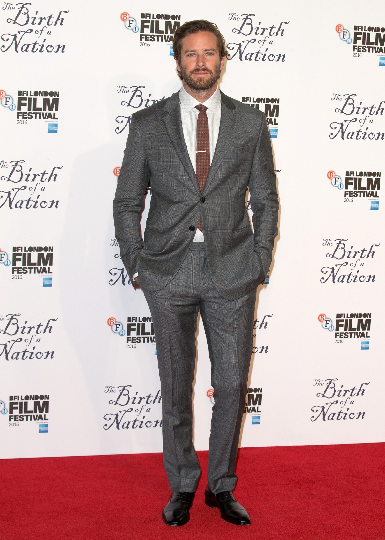 The BFI LLF  Headline Gala of 'Birth Of A Nation' held at the Odeon Leicester Square - ArrivalsFeaturing: Armie HammerWhere: London, United KingdomWhen: 11 Oct 2016Credit: Mario Mitsis/WENN.com