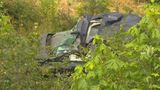 Brother, 7-year-old sister killed as truck crashes down steep ravine