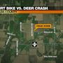 Serious injuries in Cass County dirt bike crash