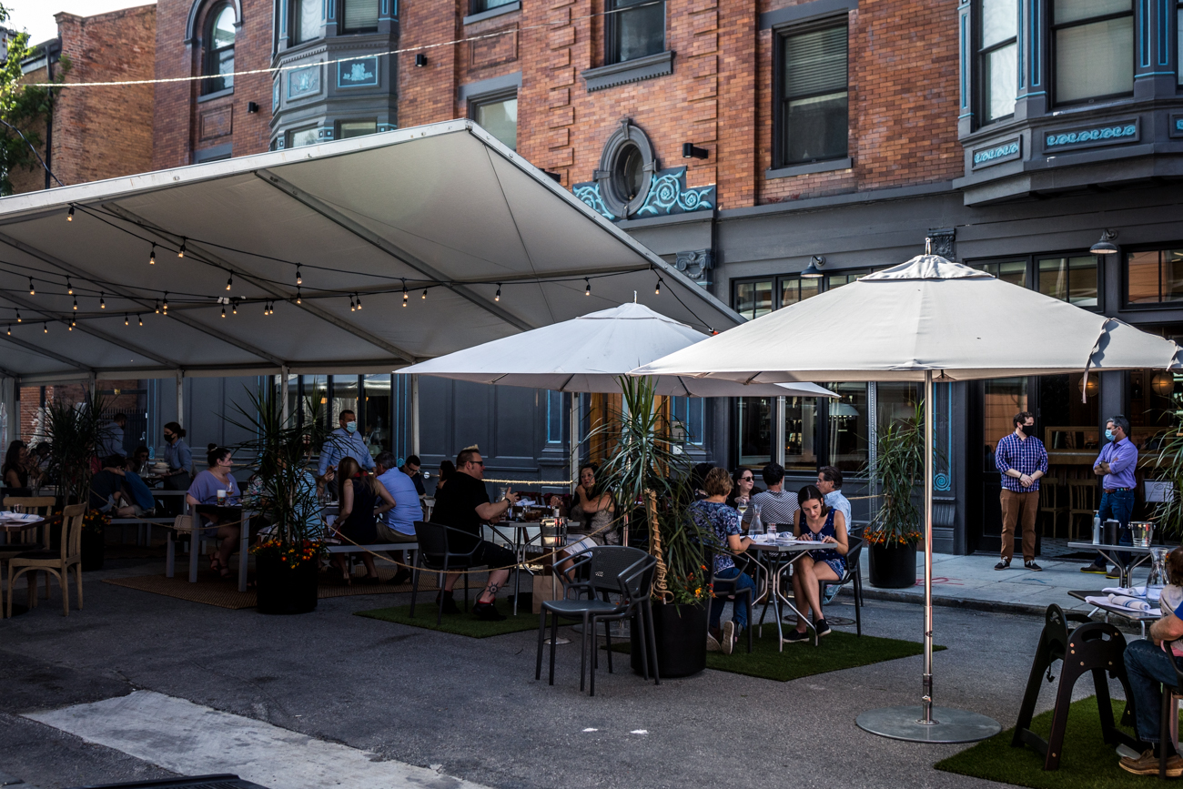 PLACE: Pepp & Dolores / ADDRESS: 1501 Vine Street (Over-the-Rhine) / Image: Catherine Viox // Published: 5.19.20