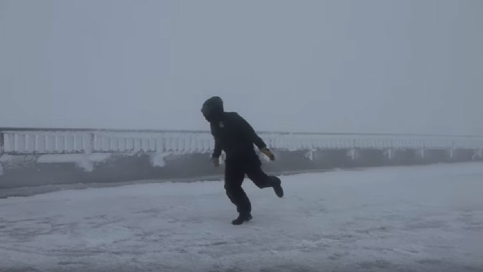 I believe I can fly: Weather observer braves 109 mph winds to create viral video