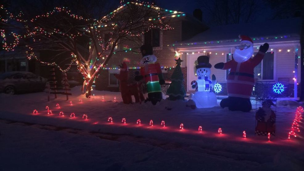 the portage lexington green neighborhood is competing for the best christmas light display on the block you can check out the lights through christmas in - How To Check Christmas Lights