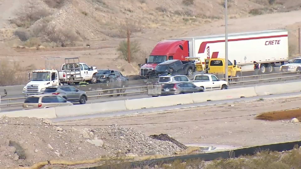 Traffic Back Up On Mesa In West El Paso Causes Major