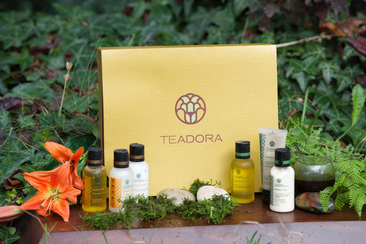 100% vegan, you can't go wrong choosing Teadora's gift set: smooth, floral and coconut scented Rainforest at Dusk or Rainforest at Dawn collection bursting of refreshing lemon, citrus and eucalyptus scents. (Photo Credit: Teadora)