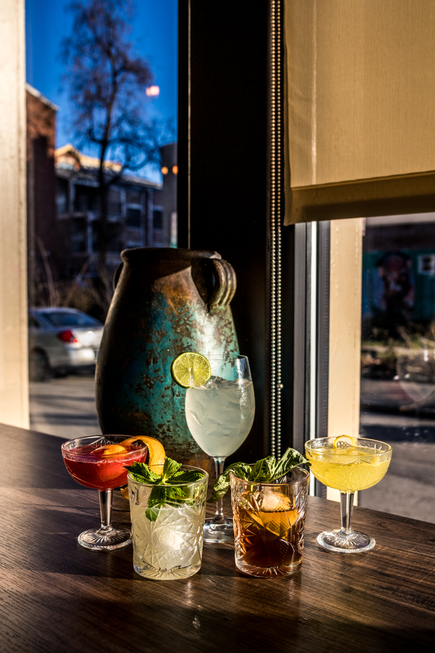 The bar and restaurant is open Tuesday through Thursday from 5 PM to 1 AM, featuring their full menu from 5 to 10 PM and their artisan flatbreads and desserts until 11 PM. They're open on Friday through Saturday from 4 PM to 1:30 AM and serve their full menu from 5 to 11 PM and flatbreads and desserts until midnight. They're closed on Sunday and Monday. / Image: Catherine Viox // Published: 1.23.20